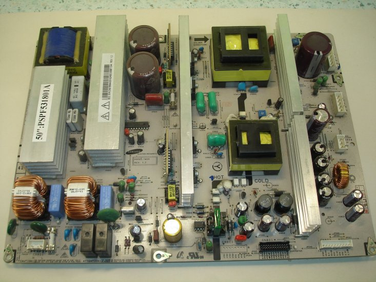 BN44-00162A PSPF531801A 50-inch plasma power supply board - Click Image to Close