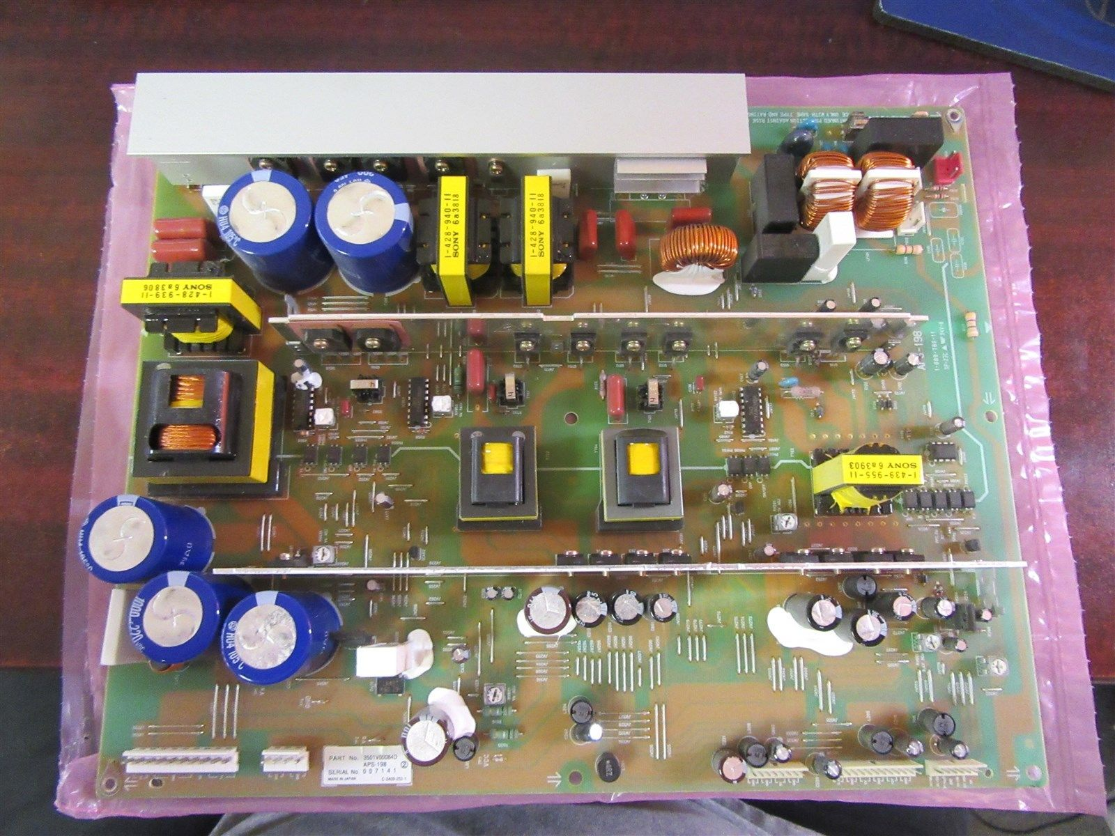 "Zenith P50W38 50"" Plasma HDTV Power Supply 3501V00084D"