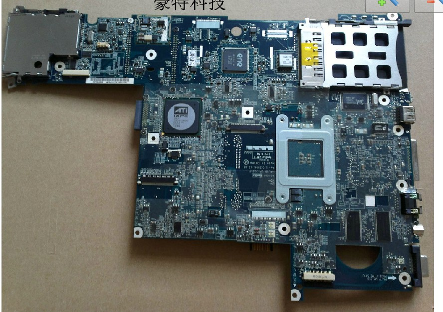 407830-001 Laptop motherboard(system board) for HP DV5000 warran