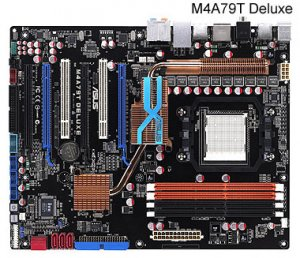 Gigabyte M52L-S3P Motherboard for AMD AM3