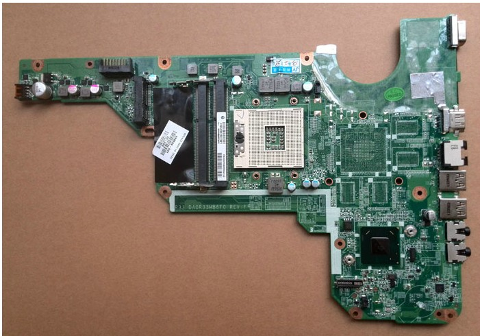 HP G4-2000 Laptop Motherboard 680569-001 DA0R33MB6E0 7670/1G