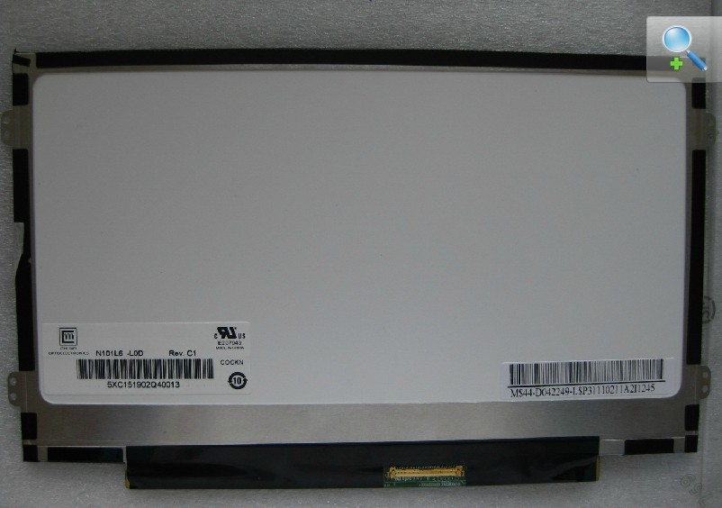 10.1 Slim LED LCD Screen B101AW06 V.1 N101L6-L0D Free shipping