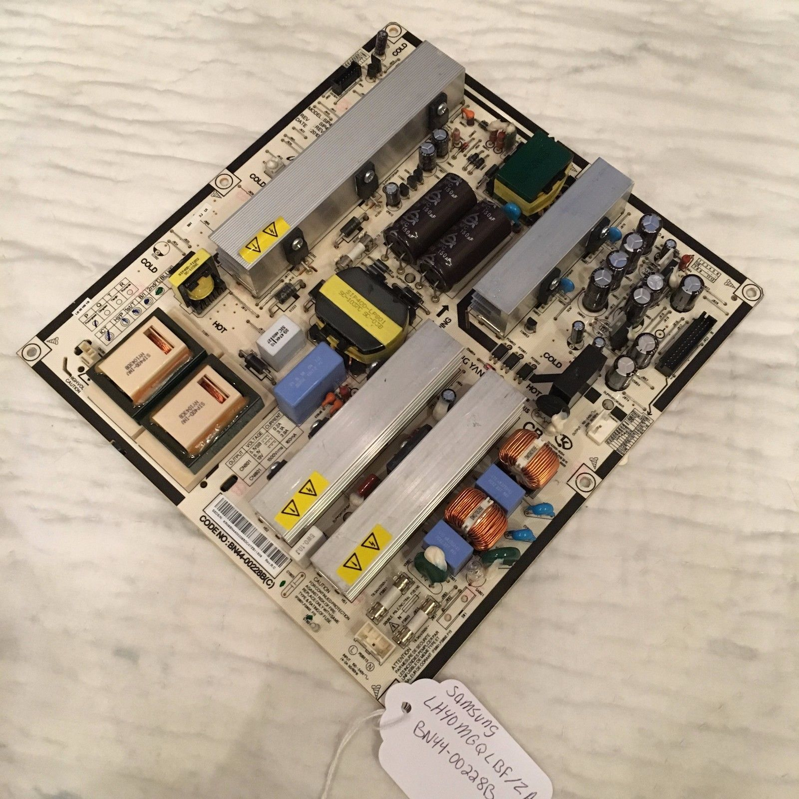 SAMSUNG BN44-00228B POWER SUPPLY BOARD FOR LH40MGQLBF/ZA AND OTH