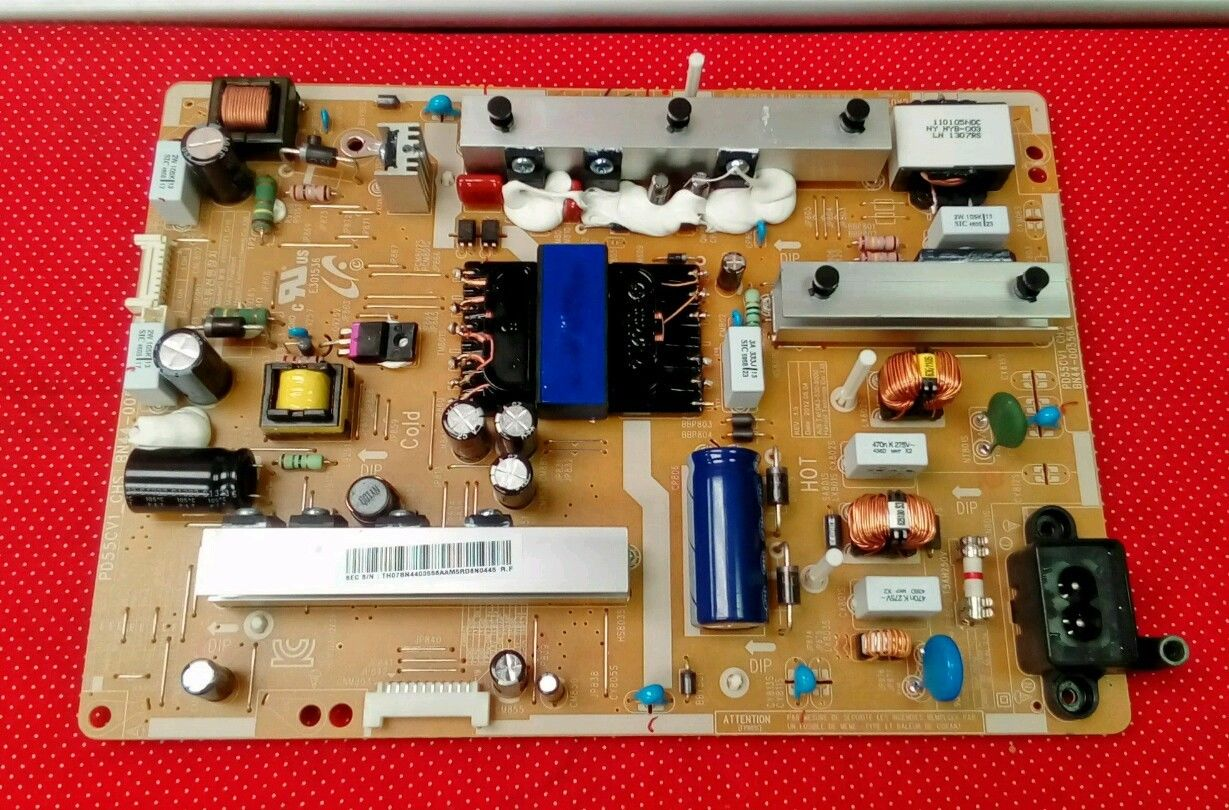 SAMSUNG UN55FH6030 POWER SUPPLY BOARD BN44-00556A A30 tested
