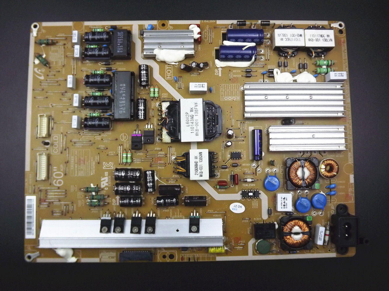 Samsung Power Supply Board BN44-00630A L60X2P-DHS For UN60F7050A