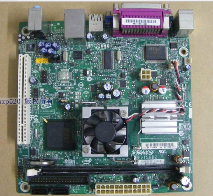 D945GCLF2 945GC Mini ITX embedded D945GCLF2D Motherboard Intel A - Click Image to Close