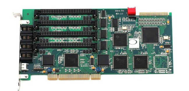 voice processing board DN081/D081A (Eight channel analog card)