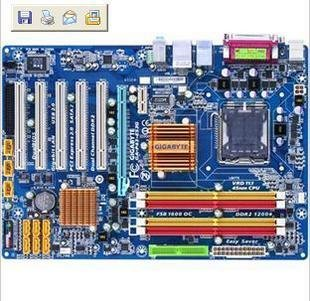 GA-P55M-UD4 Intel chipset micro ATX motherboard