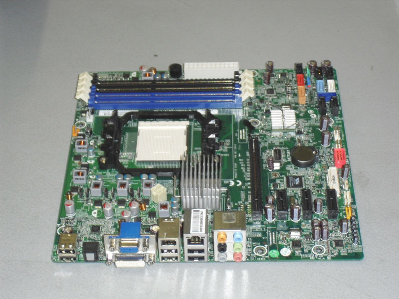 H RS880 uATX REV 1.02 Aloe Foxconn 618937-002 AM3 Motherboard H