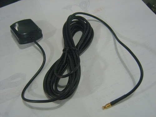 MCX GPS Antenna Active Amplifier 3 Metres of Cable With Mag-Moun