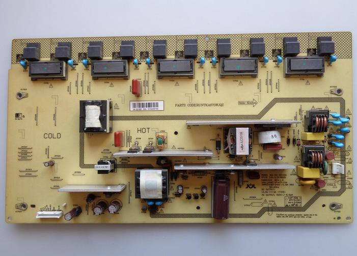 RUNTKA673WJQZ Sharp JSI-321001 Power Board (PB-LXW-1612012-01 )