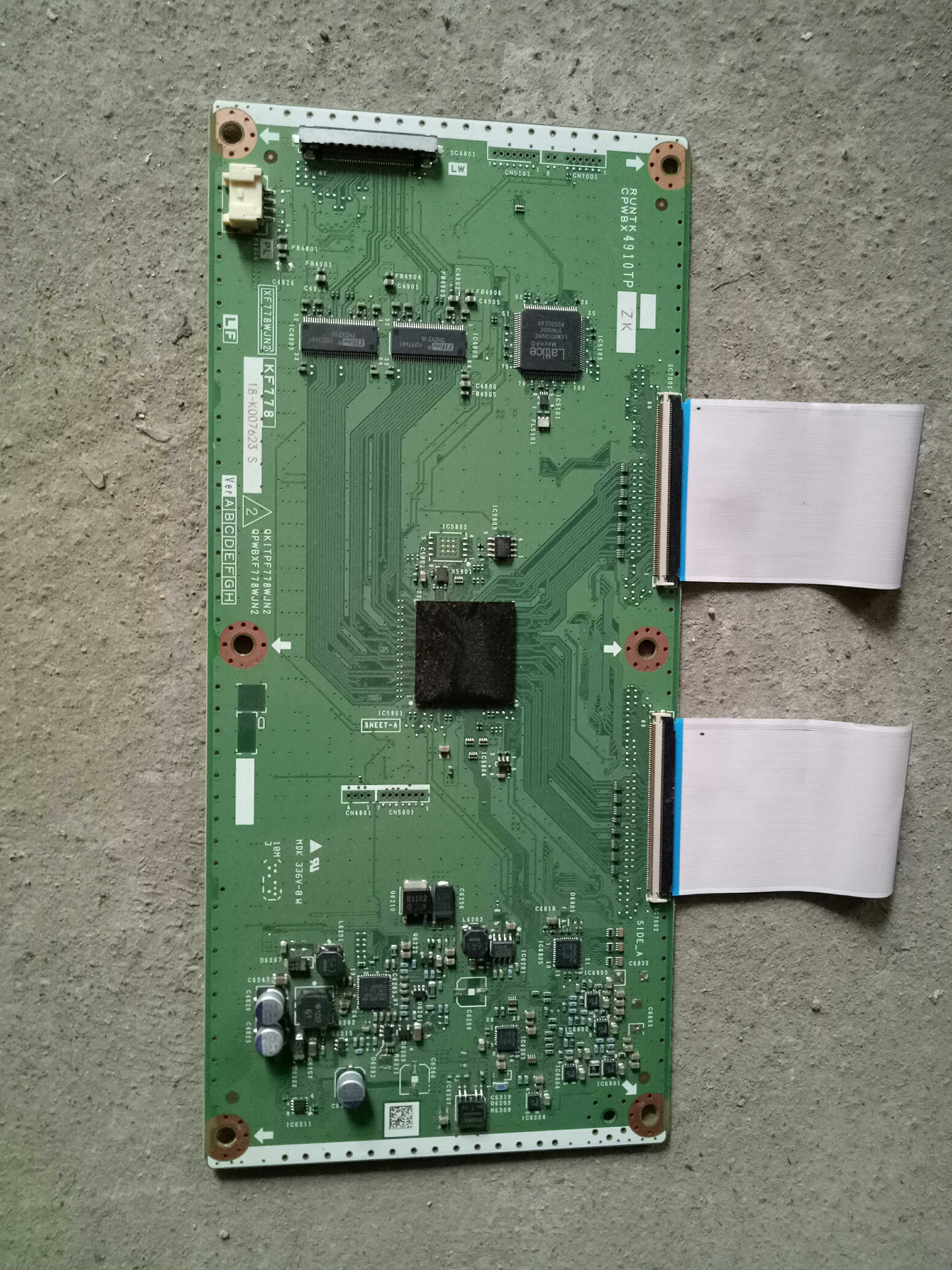 Sharp DUNTKF778FM02 (KF778 XF778WJN2) T-Con Board for LC-60LE632U