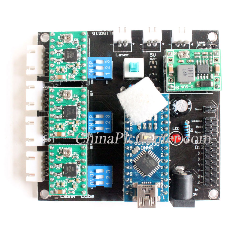 mini laser engraving machine laser CNC Dashboard control board USB CNC 3 axis stepper motor controller