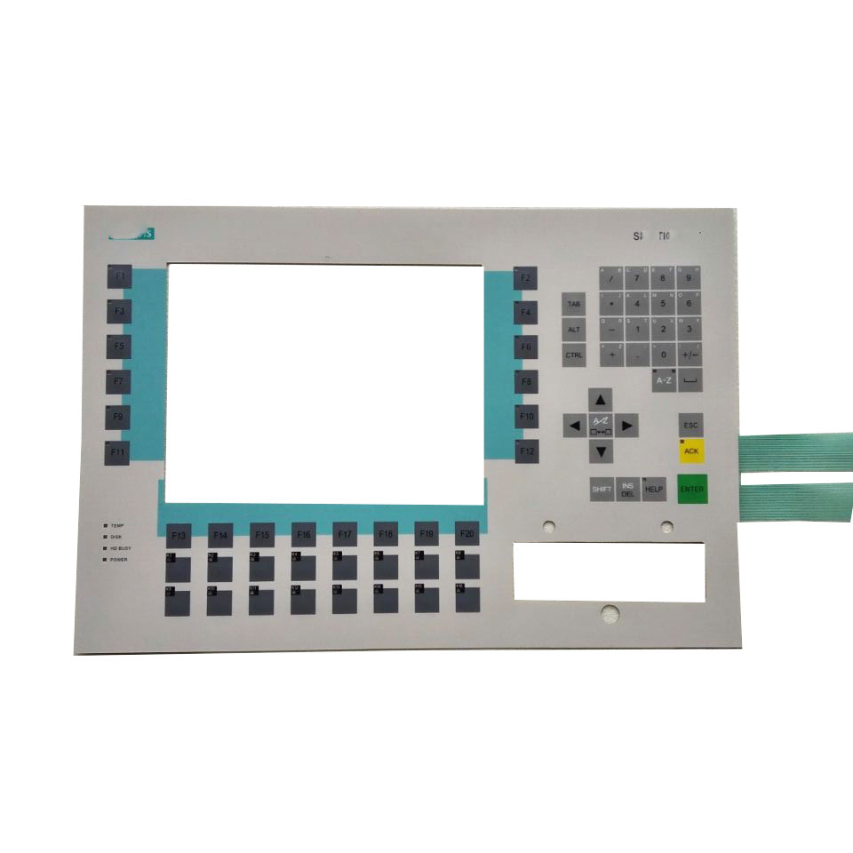 OP37 6AV3637-1LL00-0AX1 6AV3 637-1LL00-0AX1 Compatible Keypad Membrane for Siemens keypad replacement