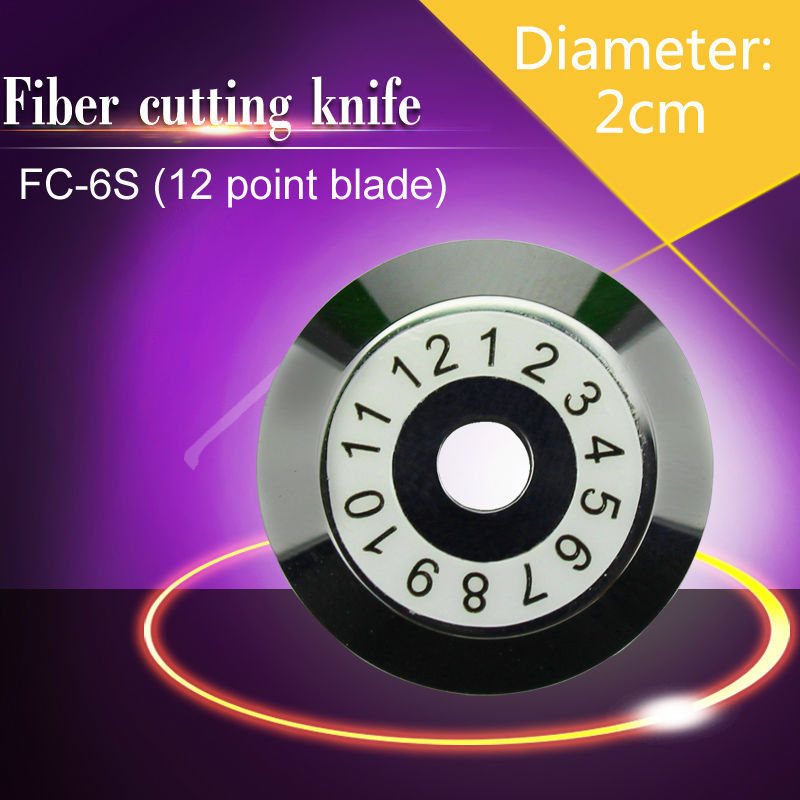SUMITOMO FC-6S Optical Fiber cutting blade/Cutting Wheel 12 surface