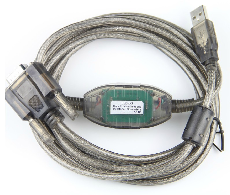USB-LG cable is a suitable replacement of USB programming cable for LG K120 K80 series PLC, not K10 series.
