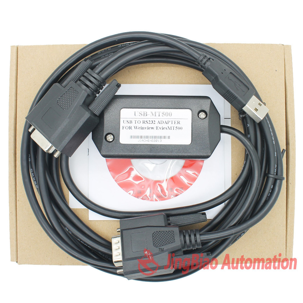 USB-MT500 is used for wenview Easyview Touch panel programming cable with usb driver