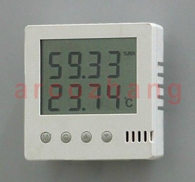 WDB506-C-C pharmaceutical warehouse workshop room temperature and humidity sensor alarm annunciator