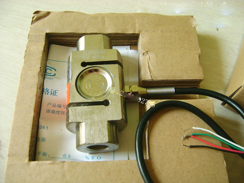 YZC-526 Weighing sensor 100KG200KG500KG1T S-type tension sensor Load Cell
