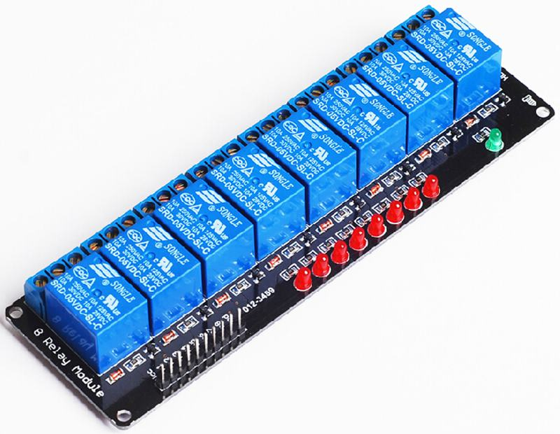 8-channel relay module 5V 8 channels relay driver module MCU control board