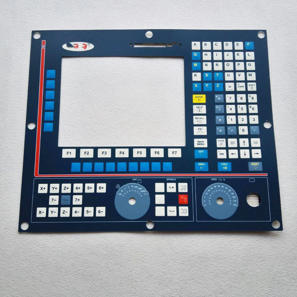 8040 CNC HMI Panel for Fagor Membrane Keypad buttons