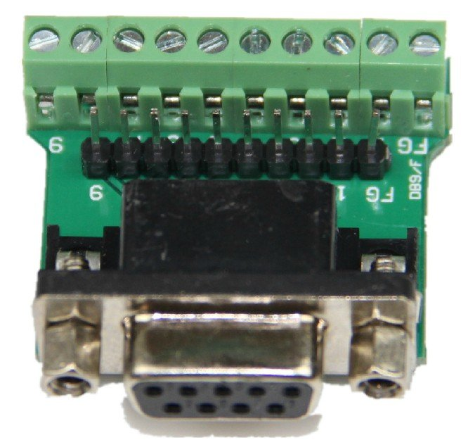 ADAPTER-DB9 FEMALE Convert