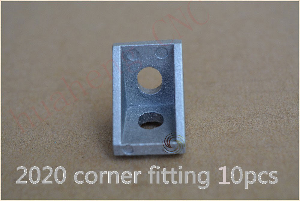 10pcs new and high quality 2020 aluminum profile fitting