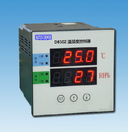 DB502-A Panel mounted temperature and humidity control, electrical equipment,temperature and humidity exclusive use