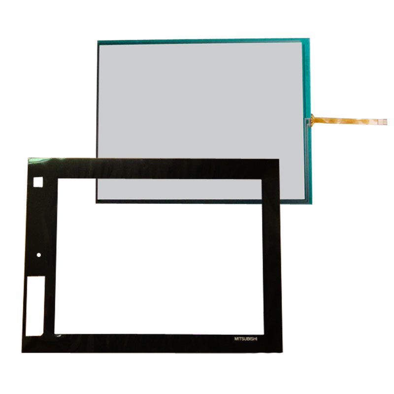 "GT1685M-STBA GOT1000 Touch Glass Panel+Protective Film 12.1"" Compatible"