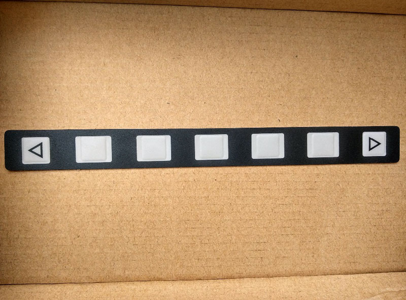 keyboard button membrane for FANUC 7 key 200mm A98L-0001-0519
