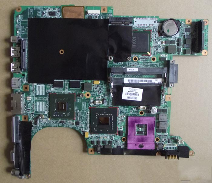 Motherboard Laptop 461068-001 DV9000 MB For HP Integrated Graphi