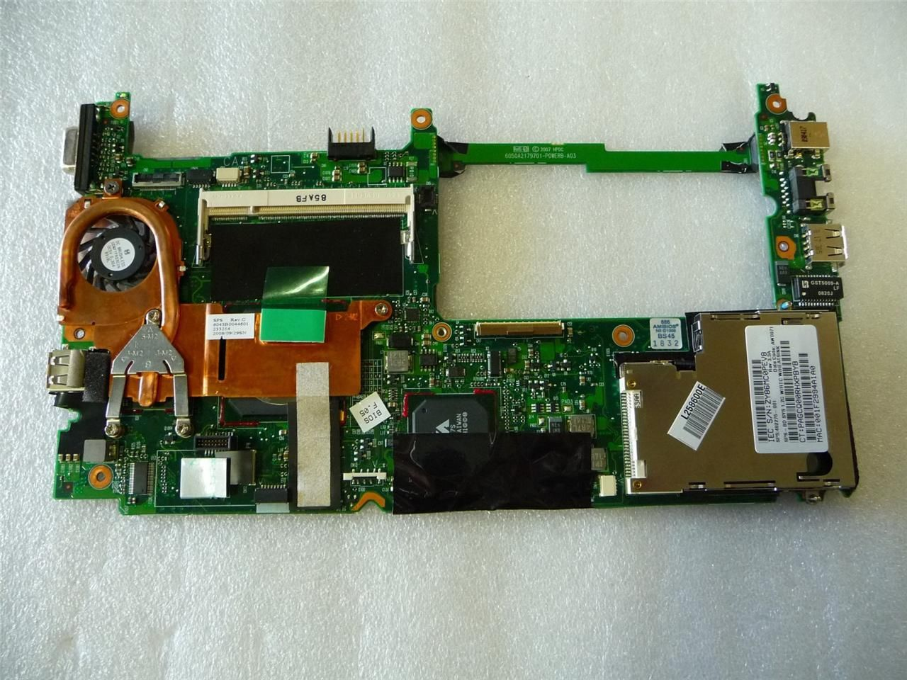 HP 482276-001 Mini 2133 1000 1.2Ghz Laptop System Motherboard