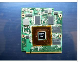 GeForce 9300M GS 512MB DDR2 MXM Video For Acer ASUS VG.9MG06.003