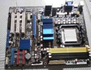 Asus M3N78-VM Socket AM2+ GeForce 8200 MATX Motherboard