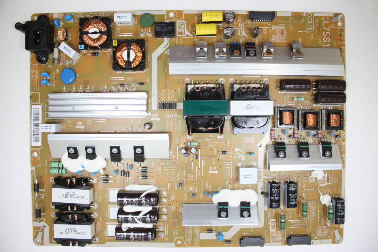 SAMSUNG UN75H6350AFXZA POWER SUPPLY BOARD BN44-00723A