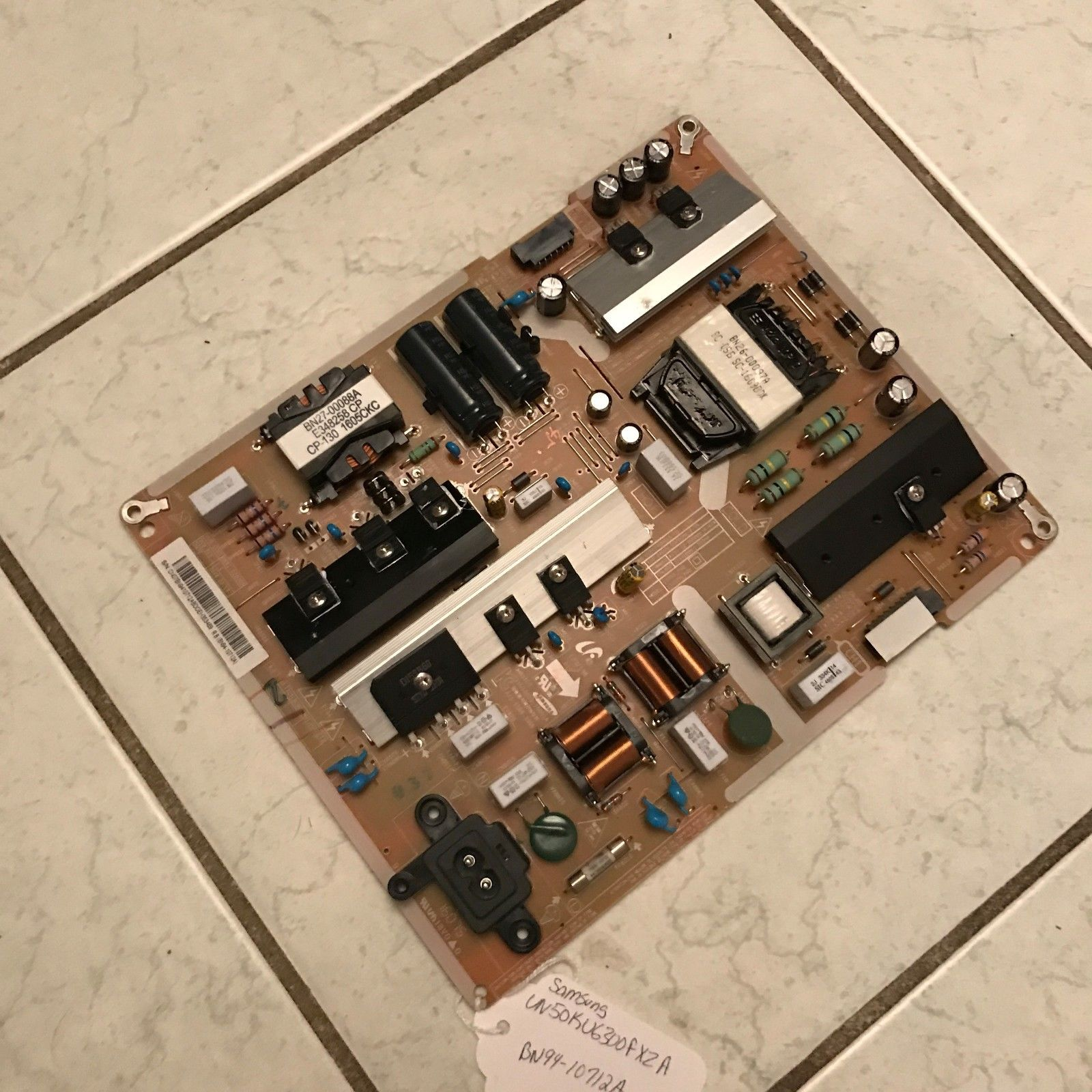 SAMSUNG BN94-10712A POWER SUPPLY BOARD FOR UN50KU6300 AND OTHER