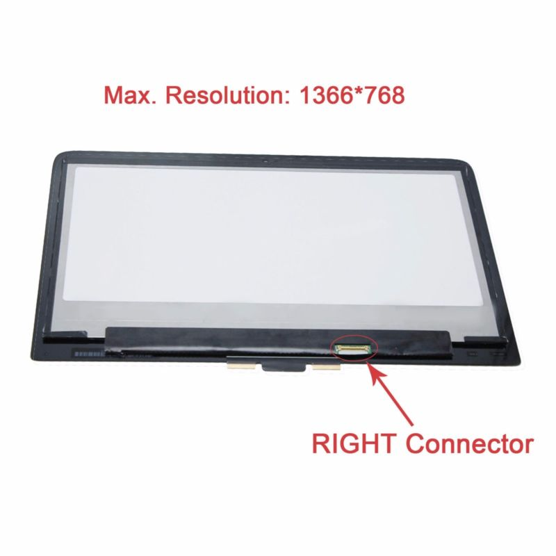 1366*768 Touch Panel Screen Assembly for HP Pavilion 13-S121ds x360 (NO BEZEL)