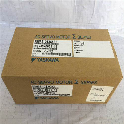 1PC YASKAWA AC SERVO MOTOR SGMPS-08ACA21 NEW FREE EXPEDITED SHIPPING