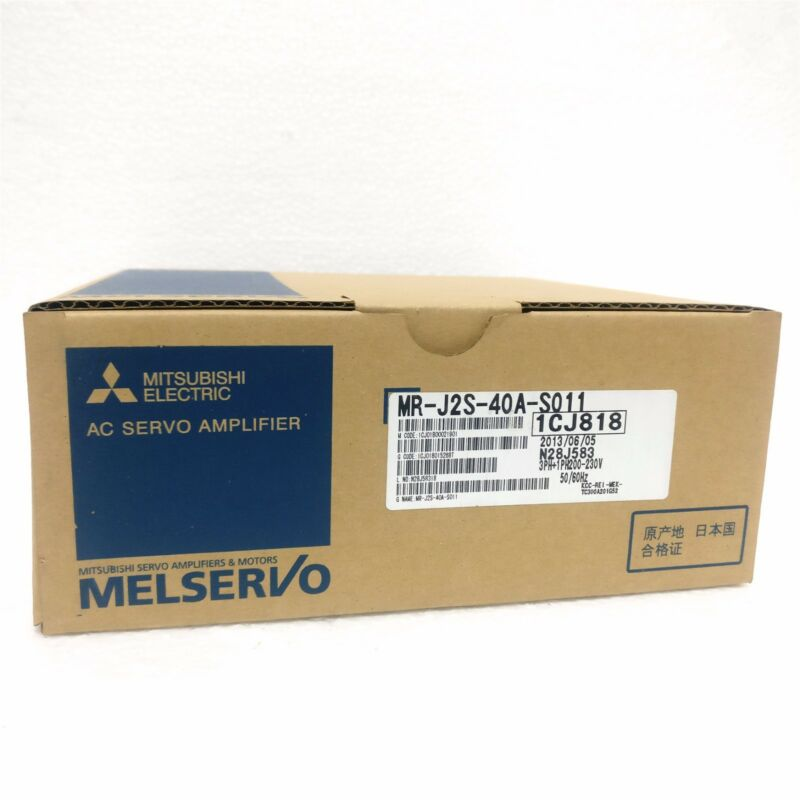 1PC MITSUBISHI AC SERVO DRIVER MR-J2S-40A-S011 NEW FREE EXPEDITED SHIPPING