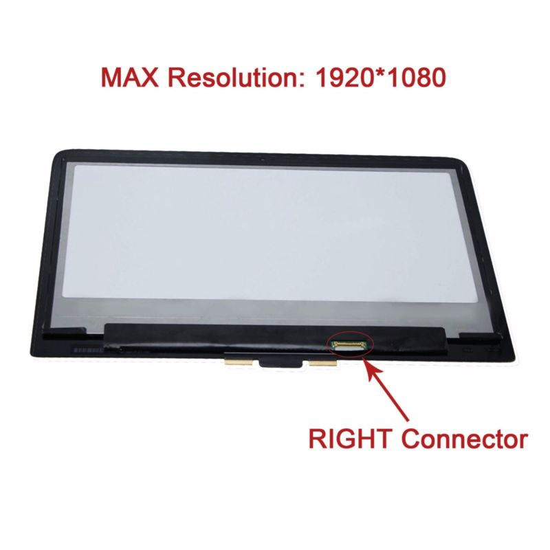 1080P FHD Touch Panel LCD Screen Assembly for HP Pavilion 13-S128NR X360