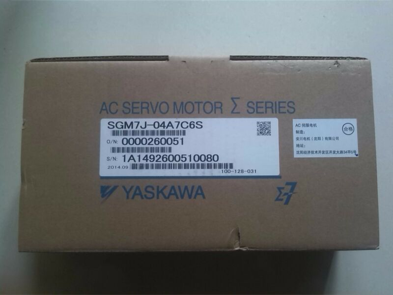 NEW YASKAWA AC SERVO MOTOR SGM7J-04A7C6S SGM7J04A7C6S FREE EXPEDITED SHIPPING