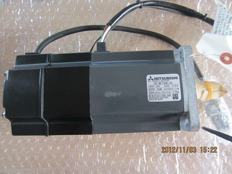 MITSUBISHI AC SERVO MOTOR HC-MF73BK-S3 NEW ORIGINAL FREE EXPEDITED SHIPPING