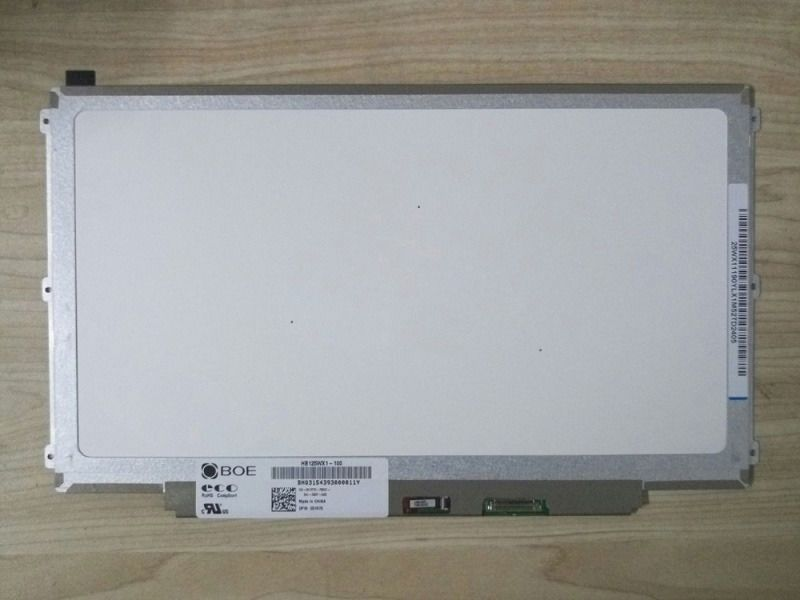 "Original 12.5""LED LCD Screen for Dell Latitude E7240 PN 0FM9FF HB125WX1-100 30PIN Display"
