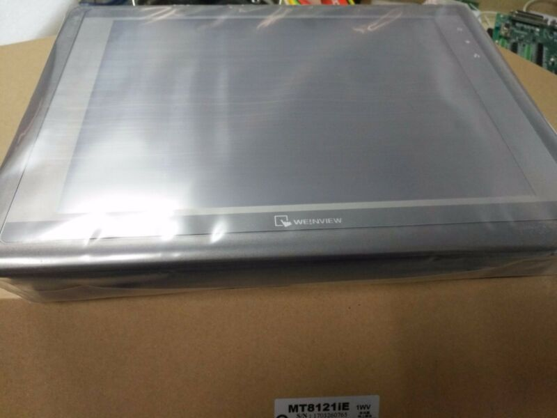 "NEW ORIGINAL WEINVIEM TOUCH PANEL MT8121iE 12"" TFT FREE EXPEDITED SHIPPING"