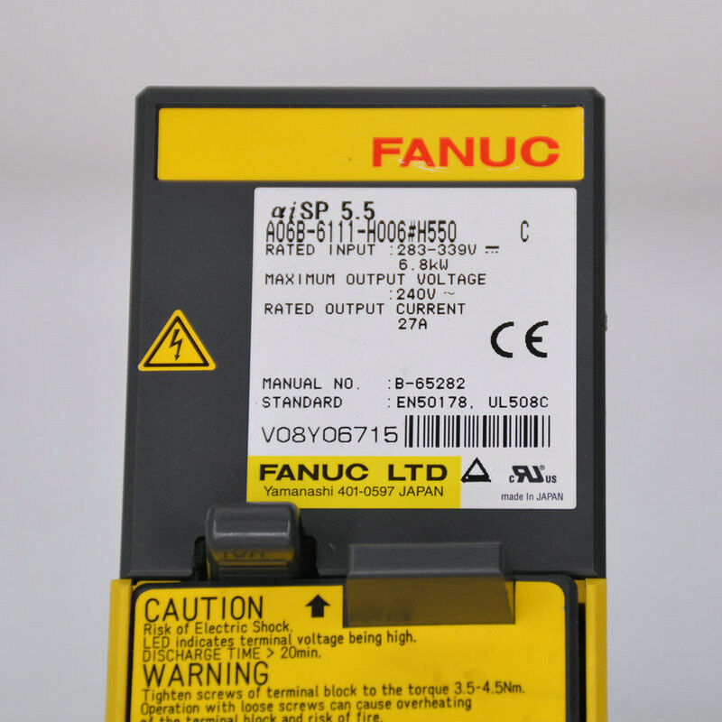 NEW ORIGINAL FANUC SERVO AMPLIFIER MODULE A06B-6111-H006#H550 FREE SHIPPING