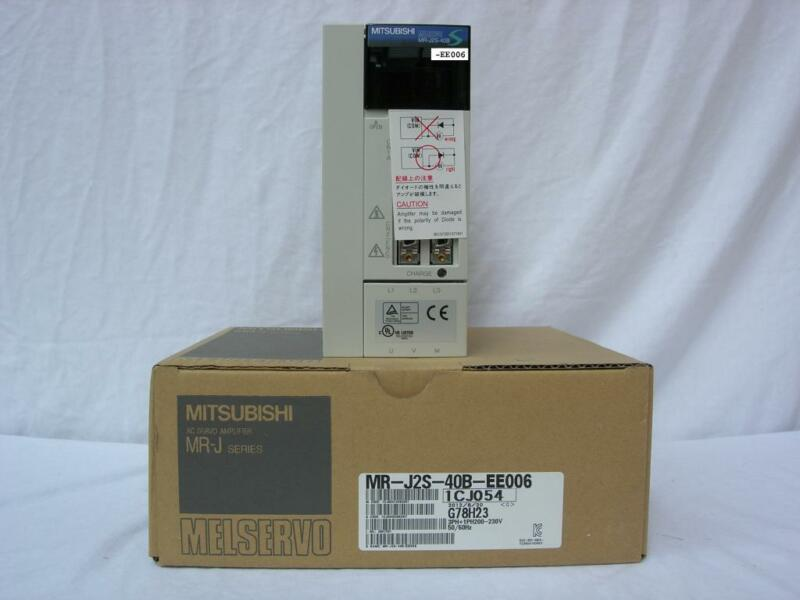 MITSUBISHI AC SERVO DRIVER MR-J2S-40B-EE006 NEWORIGINAL FREE EXPEDITED SHIPPING
