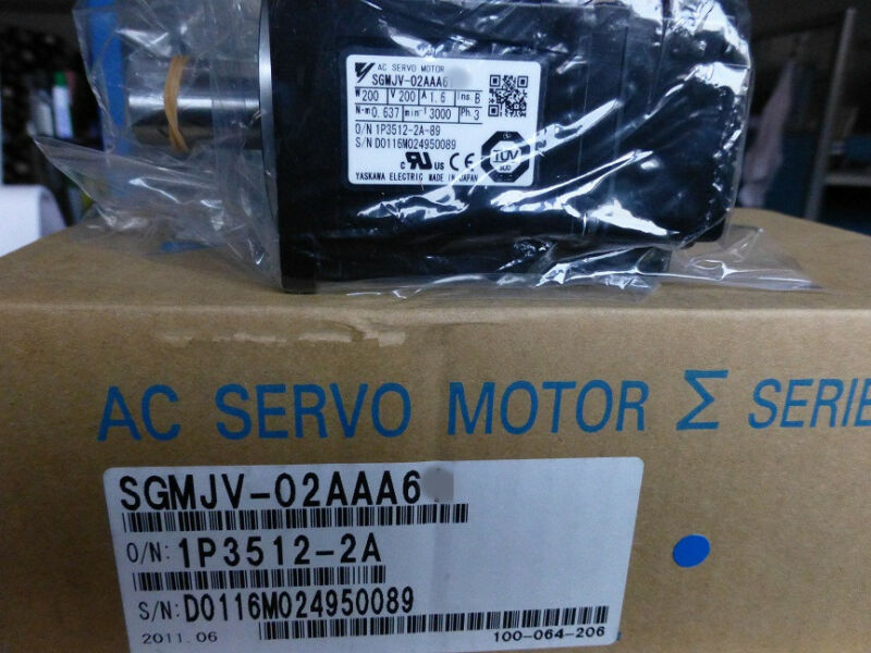 1PC YASKAWA AC SERVO MOTOR SGMJV-02AAA6C NEW ORIGINAL FREE EXPEDITED SHIPPING