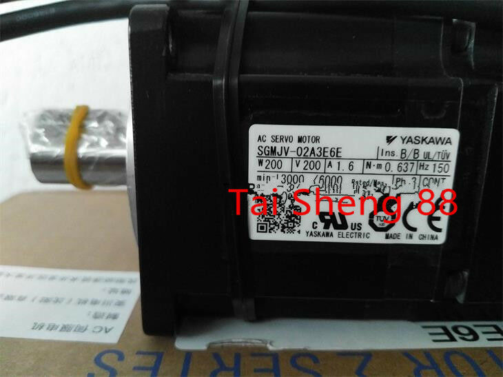 1PC YASKAWA AC SERVO MOTOR SGMJV-02A3E6E NEW ORIGINAL FREE EXPEDITED SHIPPING