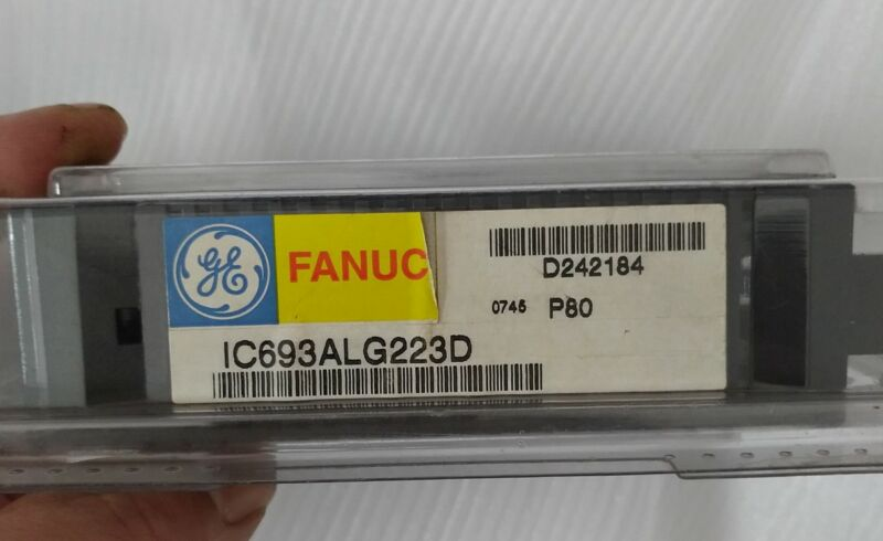 NEW ORIGINAL FANUC ANALOG INPUT MODULE IC693ALG223 FREE EXPEDITED SHIPPING