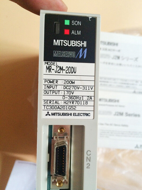 MITSUBISHI AC SERVO DRIVER MR-J2M-20DU MRJ2M20DU NEW FREE EXPEDITED SHIPPING